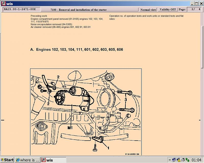 Where Is My Solenoid And Starter Motor Located