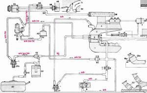W126 intake manifold vacuum lines diagram  MercedesBenz