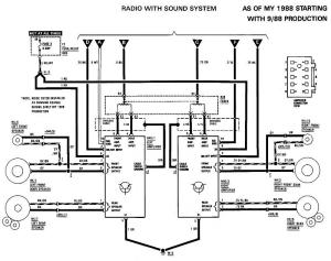 Factory speakerwire diagram  MercedesBenz Forum