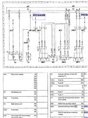 Mercedes Benz W202 Wiring Diagrams  Wiring Diagram and