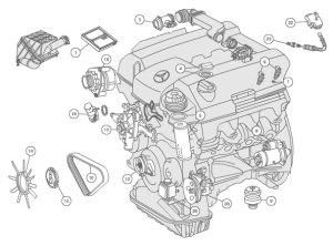 Mercedes Benz 2006 C280 Fuel System Diagram | Online