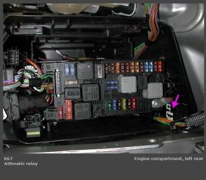 Wiring on airmatic pressor  MercedesBenz Forum