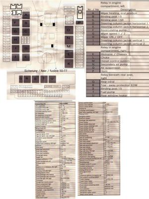 2001 S500 Fuse Diagram  MercedesBenz Forum