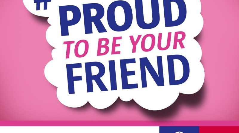 'Proud to be your friend' (Lokale Politie Antwerpen)