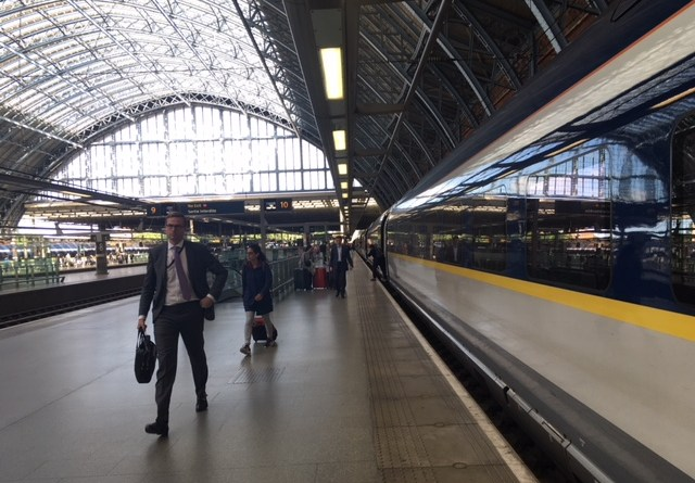 St Pancras International (Timothy Junes)