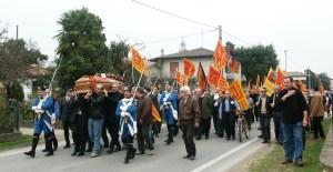 Corteo Funebre a San Michele delle Badesse - Borgoricco