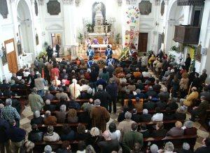 Foto del funerale di Bepin Segato