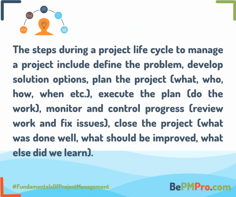 What is a Project Life Cycle? 7 Easy and Short Tips! 6