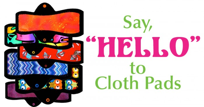 say hello to cloth pads
