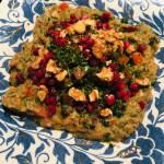 Wraps met gegrilde groenten en hummus