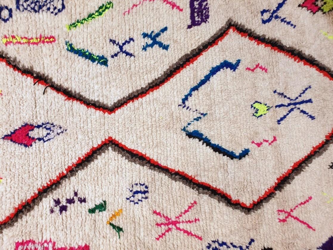 Moroccan Azilal Rug - Vintage Azilal Area Rug - Vintage Oriental Rug