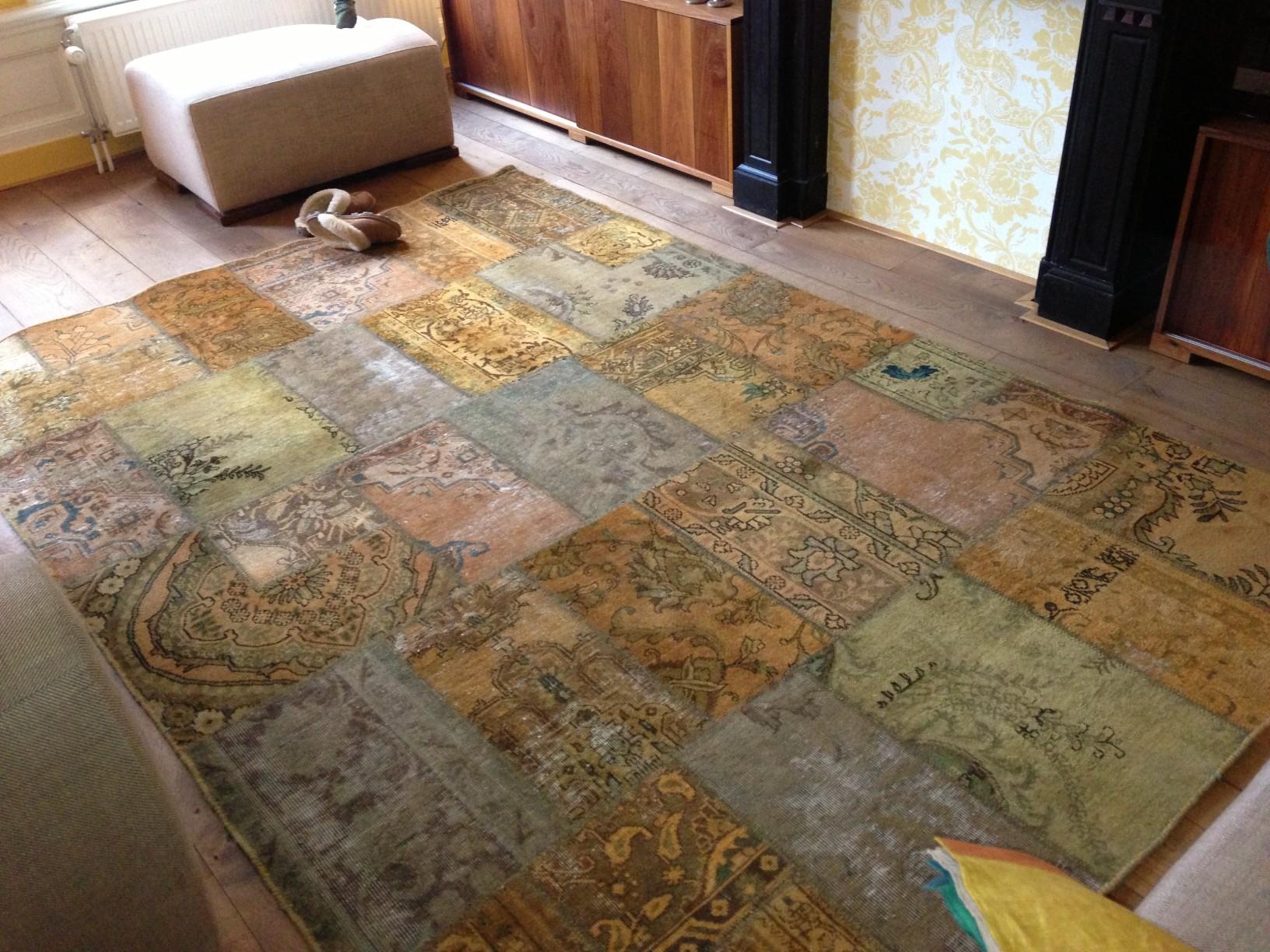 Patchwork vloerkleed berberhuis patchwork tapijt - Moderne tapijten ...