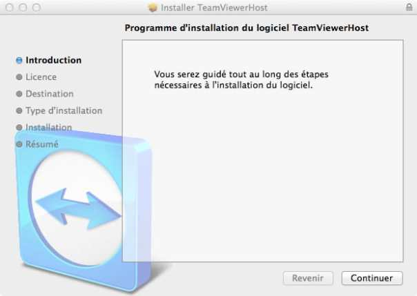 TeamViewer, étape 1