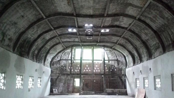 Bagian dalam Gereja Misterius di Bukit Rhema Borobudur