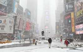 В Чикаго выпало рекордное количество снега