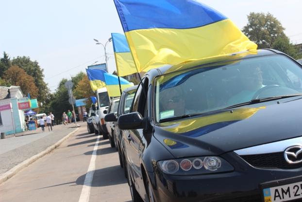 Автомобілісти міста Бердичева готуються до всеукраїнського страйку