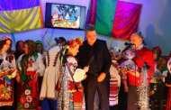 Голова Бердичівської районної ради Максим Самчик привітав учасників першого фестивалю колядок та щедрівок