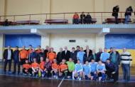 Ветерани бердичівського футболу товариським матчем привітали свого товариша Ігоря Дробиша з ювілеєм