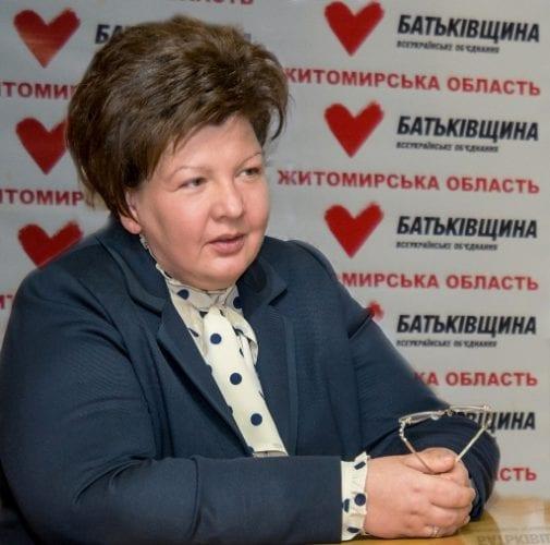 Анжеліка Лабунська жорстко відреагувала на голосування членів «Батьківщини» в Житомирі