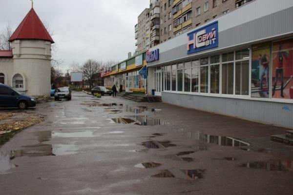 В Бердичеві депутат повстав проти незадовільного стану доріг у місті. Розбиралася поліція. ФОТО