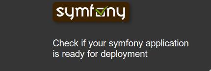 symfony check