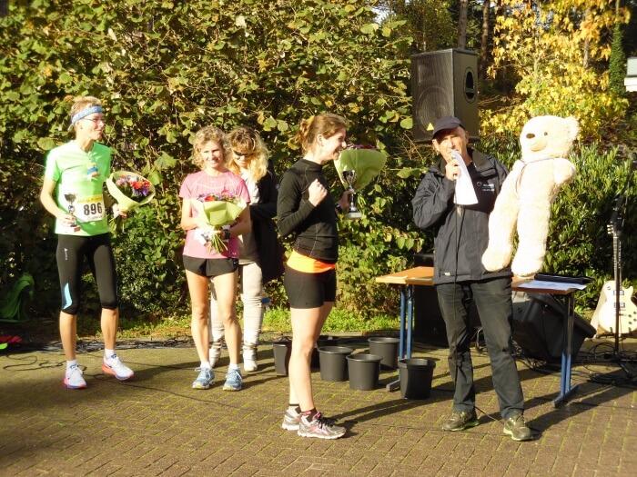 Finish en prijsuitreiking Kleintje Berenloop 2014