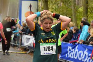 Foto's finish en prijsuitreiking Kleintje Berenloop 2017