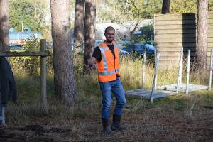 Voorbereiding en start Kleintje Berenloop 2018