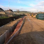 Bere_Regis_Primary_School_construction_photograph_February_2016_2_Construction_of_new_access_road