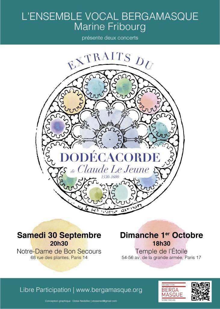 Affiche Dodécacorde Paris