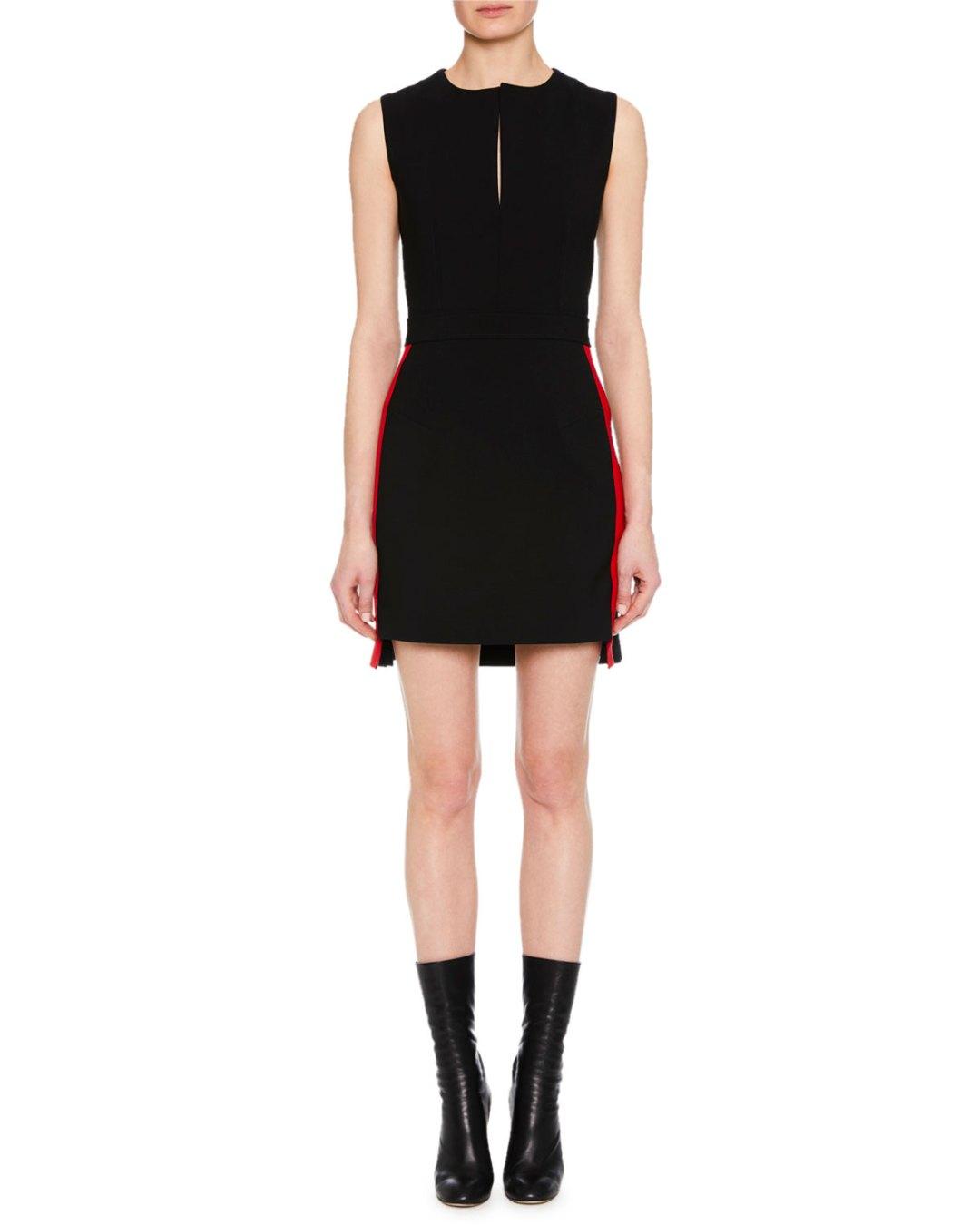 0e314da91e ALEXANDER McQUEEN – Short-Sleeve Graphic-Art Fit-and-Flare Cocktail Dress –  Bergdorf Goodman (Neiman Marcus) – $2,245