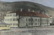 Solheim skole. Ukjent  dato og fotograf. Fra arkivet etter skolen. Bergen Byarkiv.