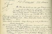Branntakst på eiendom 5/3 i Årstad kommune, 1902. Fra branntakstprotokoll for lensmannen i Årstad 1899-1907. Signatur 12.10. fol. 144b-145. Statsarkivet i Bergen.