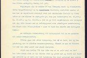 Rapport fra 1924 om utbyggingen på Nymark stilet til boligdirektør Westby og signert Peter Sæterdahl
