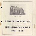 Nymark idrettslag jubileumsnummer 1921-1946.