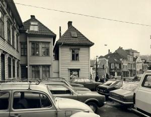 Nøstegaten rundt 1980.