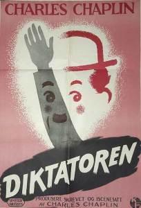 Charlie Chaplins klassiker Diktatoren fra 1940, kom til Norge først etter krigen.