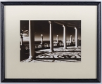 "<h5> ""Veranda – Hearst Castle"" by Mary Lorincz (N/D)</h5><p>Approx. 9″x13″; Toned photograph BMAS 1020</p>"