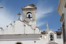 Störche in Faro
