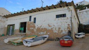 Wanderungen an der Algarve / Hafen von Burgau