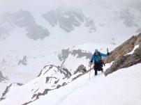 Skitouren Valmaira / Aufstieg zum Monte Freid