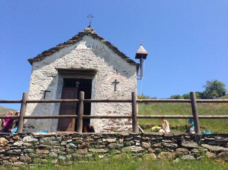 Wandern am Lago Maggiore: Auf dem zum Passo Cavalla