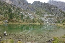 Wanderungen Valmaira: Lago Nero