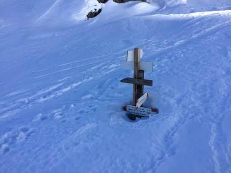 Valle Maira Schnee genug