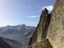 Klettertour Spigolo Maria Grazia / Route