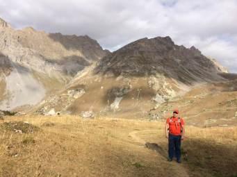 Klettertour Spigolo Maria Grazia / Zustieg