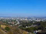 Scenic View Over LA from Beverly Hills