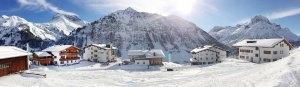 Partner des 3 STerne Resort Spitzenegg | Bergland Appartements in Lech am Arlberg | Skiurlaub auf 1600m direkt an der Skipiste und an Winterwanderwegen