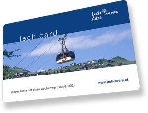lech card lech zuers am arlberg bergland appartements