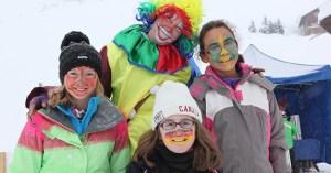 Kinder-Fasching Lech Zürs Arlberg Events winter 2015/16 Bergland Appartements